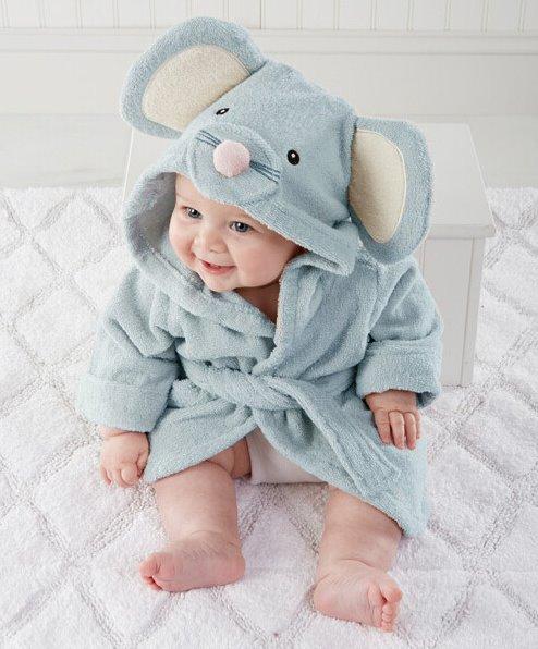 9e119176d99f Детский махровый халат Funny Mouse (PECHE MONNAIE France 5) Артикул ...