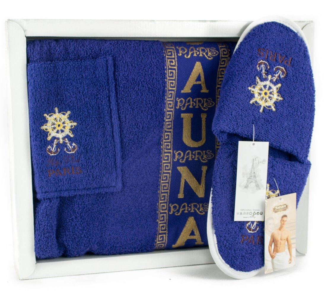 67997a09404d Мужской набор для бани и сауны с тапочками MAGIC SAUNA (EVA) Артикул ...